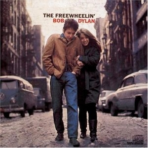 The Freewheelin' Bob Dylan album cover