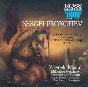 Prokofiev-Alexander Nevsky Cantata-Lt Kije Suite album cover