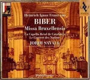 Biber: Missa Bruxellensis album cover