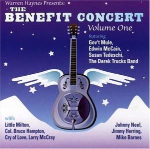 Warren Haynes Presents: The Benefit Concert, Vol.1 album cover