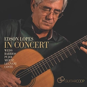 Edson Lopes In Concert album cover