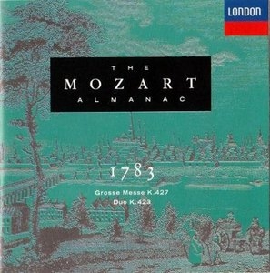 The Mozart Almanac Vol.XI: 1783 album cover