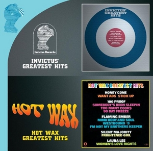 Invictus' Greatest Hits~ Hot Wax Greatest Hits album cover