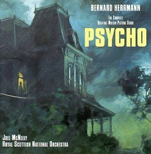 Psycho: The Complete Original Motion Picture Score album cover