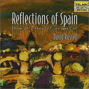 Reflections Of Spain: Spanish Favorites For Guitar album cover