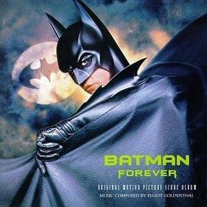 Batman Forever: Original Motion Picture Score Album album cover