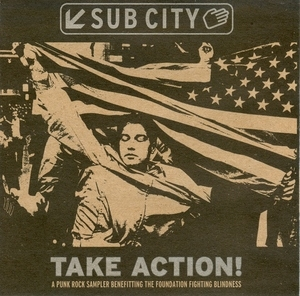 Sub City: Take Action! Punk Rock Sampler album cover
