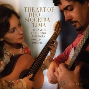 The Art Of Duo Siqueira Lima album cover