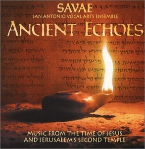 Ancient Echoes-Music From The Time Of Jesus album cover