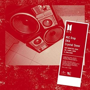 MIC Drop / DNA / Crystal Snow album cover