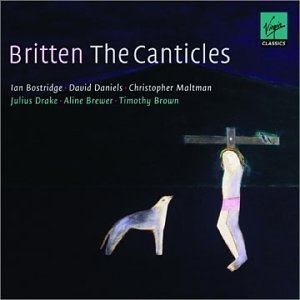 Britten: The Canticles album cover