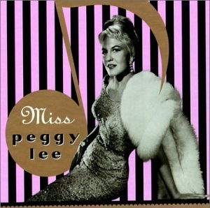 Miss Peggy Lee album cover