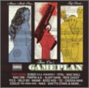 Three Cee's: Gameplan album cover