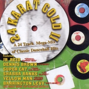 24K Gold II: A 24 Track Mega-Mix of Classic Dancehall Hits album cover