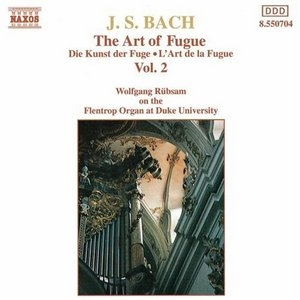 JS Bach: The Art Of Fugue Vol.2 album cover