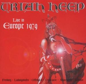 Live In Europe 1979 album cover