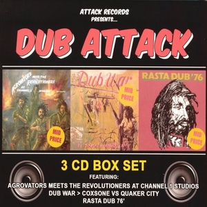 Attack Records Presents: Dub Attack album cover