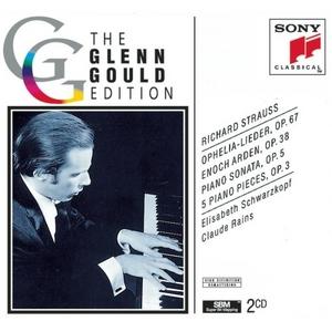 Glenn Gould Edition: Strauss album cover