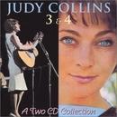 Judy Collins 3 & 4 album cover