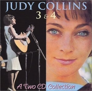 Judy Collins 3 & 4 album cover