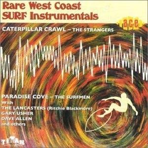 Rare West Coast Surf Instrumentals album cover