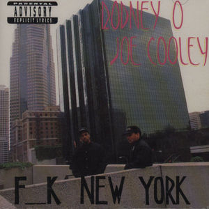 Fuck New York album cover