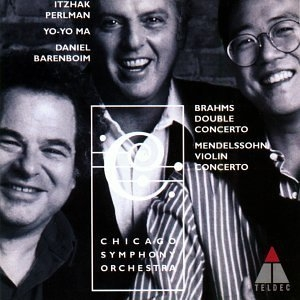 Brahms: Double Concerto, Mendelssohn: Violin Concerto album cover
