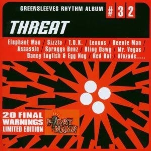 Greensleeves Rhythm Album #32: Threat album cover
