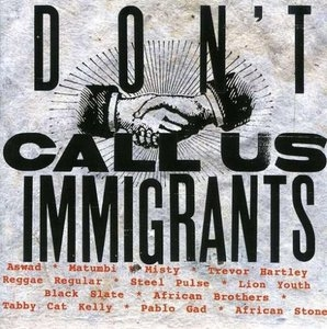 Don't Call Us Immigrants album cover