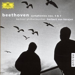 Beethoven: Symponies Nos. 5 & 7 album cover