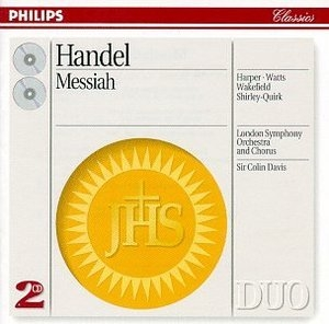 Handel: Messiah album cover
