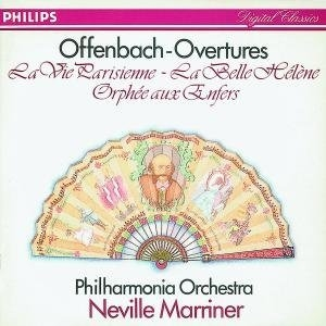 Offenbach: Overtures album cover