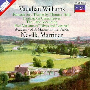 Vaughan Williams album cover