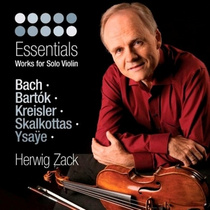 Essentials: Work For Solo Violin album cover