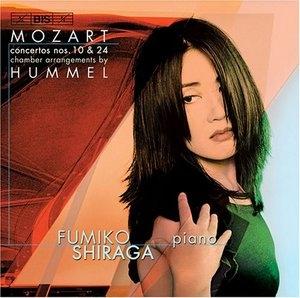 Mozart: Concertos Nos. 10 & 24, Chamber Arrangements By Hummel album cover