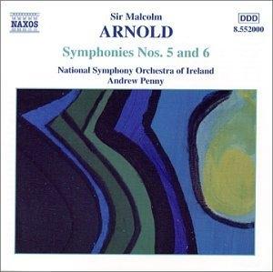 Arnold: Symphonies No.5 & 6 album cover