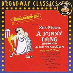 A Funny Thing Happened On The Way To The Forum (1962 Original Broadway Cast)  album cover