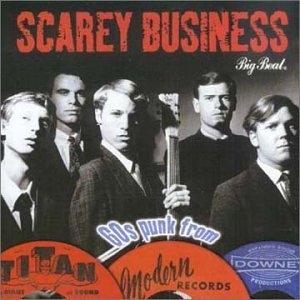 Scarey Business album cover