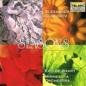Glazunov: The Seasons, Scènes De Ballet album cover