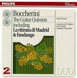 Boccherini: The Guitar Quintets album cover