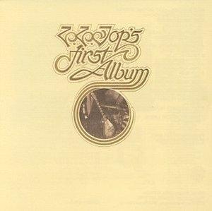 ZZ Top's First Album album cover