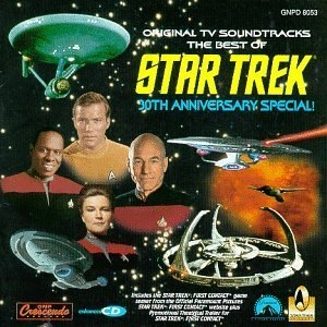 The Best Of Star Trek: 30th Anniversary Special album cover