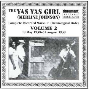 The Yas Yas Girl-Complete Recorded Works-Vol.2 (1938-1939) album cover