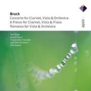 Bruch-Works For Clarinet And Viola album cover