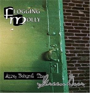 Alive Behind The Green Door album cover