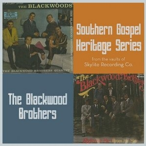 At Home With The Blackwood Brothers~ Release Me album cover