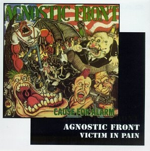 Cause For Alarm~ Victim In Pain album cover
