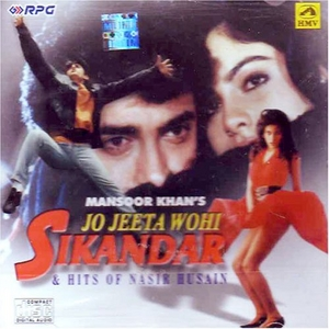 Mansoor Khan's Jo Jeeta Wohi Sikandar & Hits Of Nasir Husain album cover