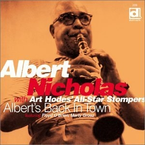 Albert's Back In Town album cover