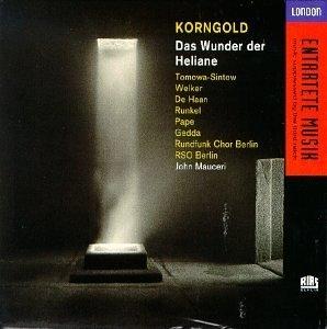 Korngold: Das Wunder Der Heliane album cover